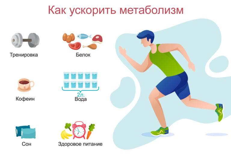 Как ускорить обмен веществ в организме и похудеть — 5+ способов