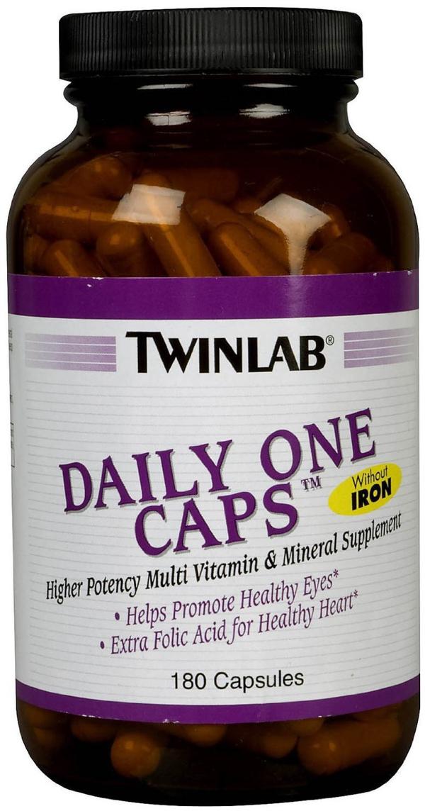 Twinlab daily one caps противопоказания