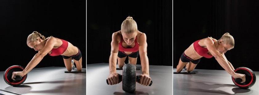 Упражнения с роликом для пресса - как правильно заниматься мужчинам и женщинам с видео