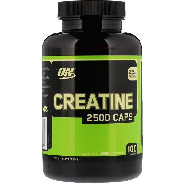 Creatine optimum nutrition 2500