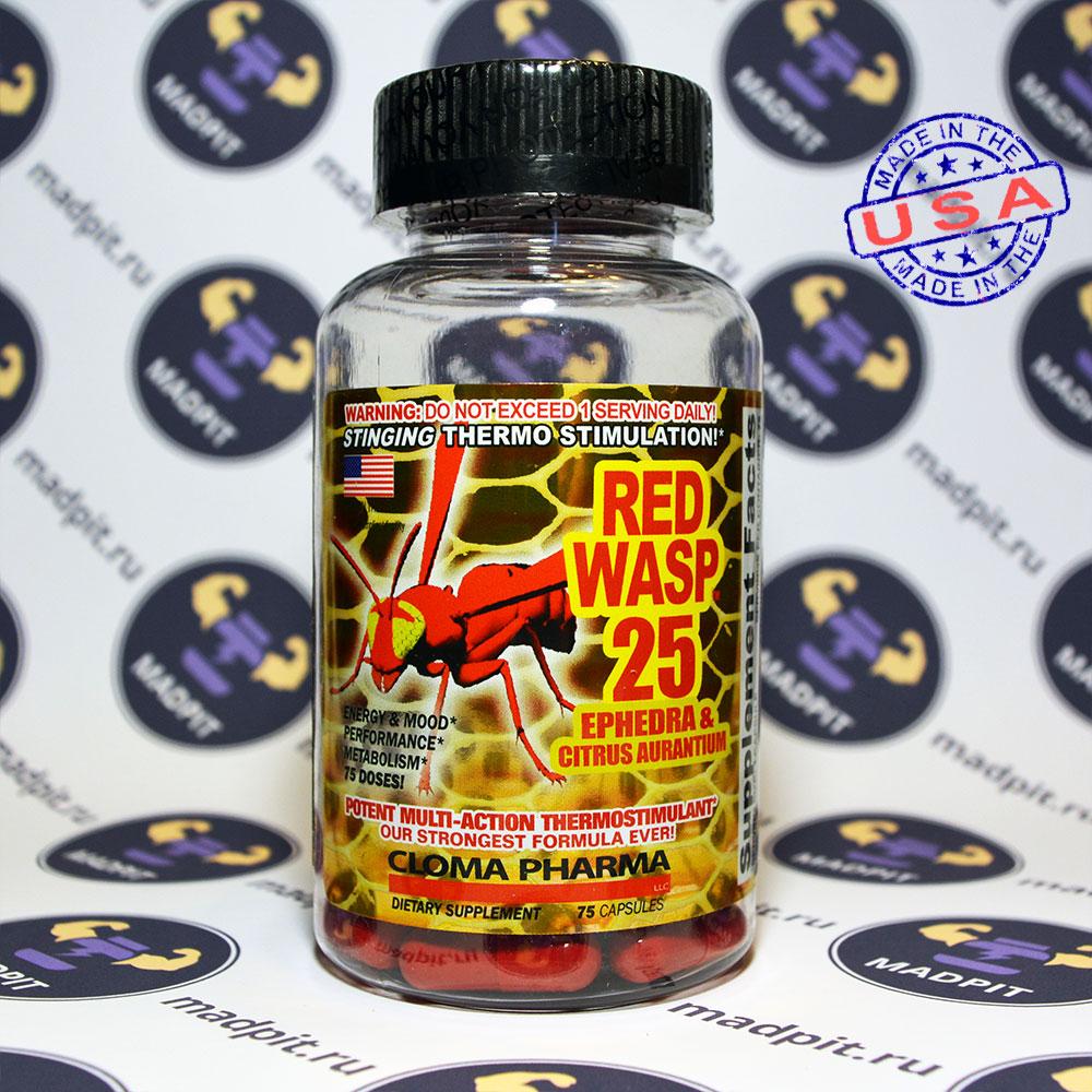 Популярный эффективный жиросжигатель red wasp
