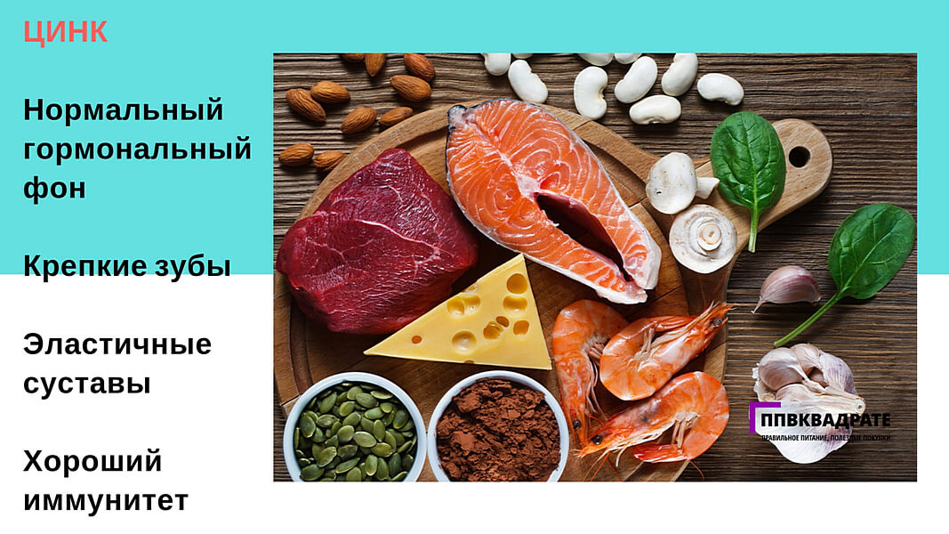 Зачем цинк нужен организму? — витамин и минерал