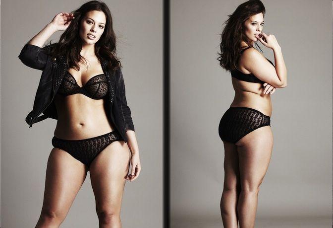 Модель плюс сайз похудела: фото до и после