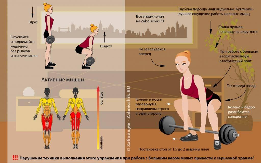 В чём польза приседаний со штангой | сайт о бодибилдинге, фитнесе и здоровом образе жизни.