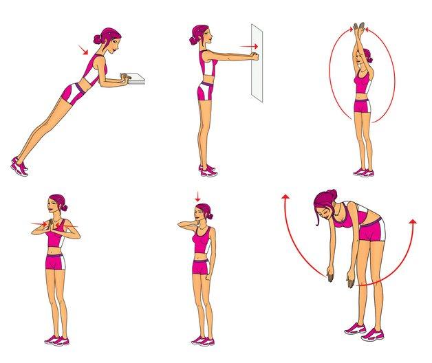Упражнения для подтяжки рук в домашних условиях: как подтянуть мышцы внутренней стороны, избавиться от дряблости, видео