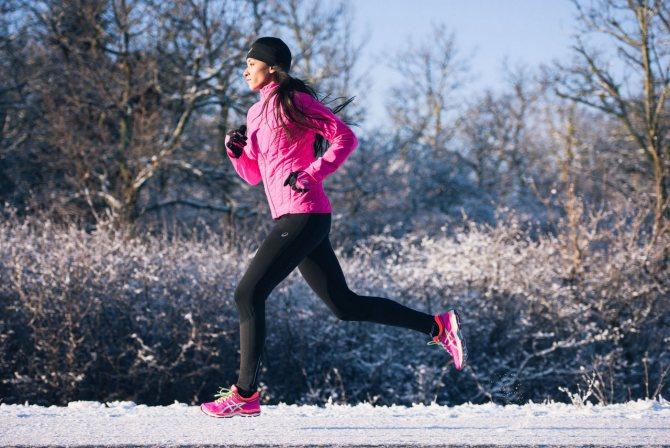 Как бегать зимой на улице: правильная одежда, подготовка и советы