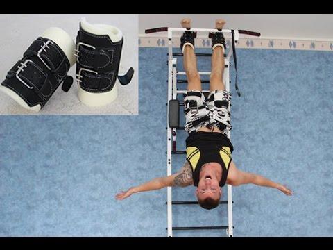 Ботинки гравитационные инверсионные для мышц пресса и спины