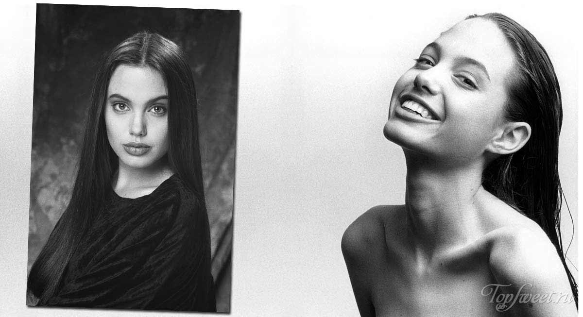 Как выглядела анджелина джоли в молодости: фото в 16-18 лет