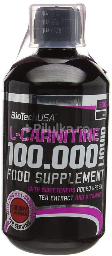 L-carnitine liquid от biotech usa: для спорта и активной жизни