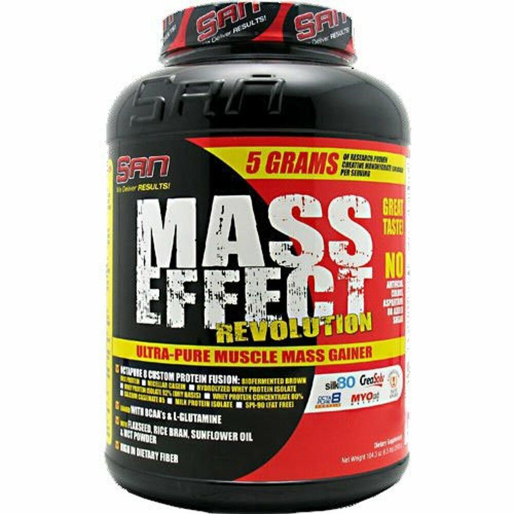 Mass effect revolution 5896 гр - 13lb (san) купить в москве по низкой цене – магазин спортивного питания pitprofi