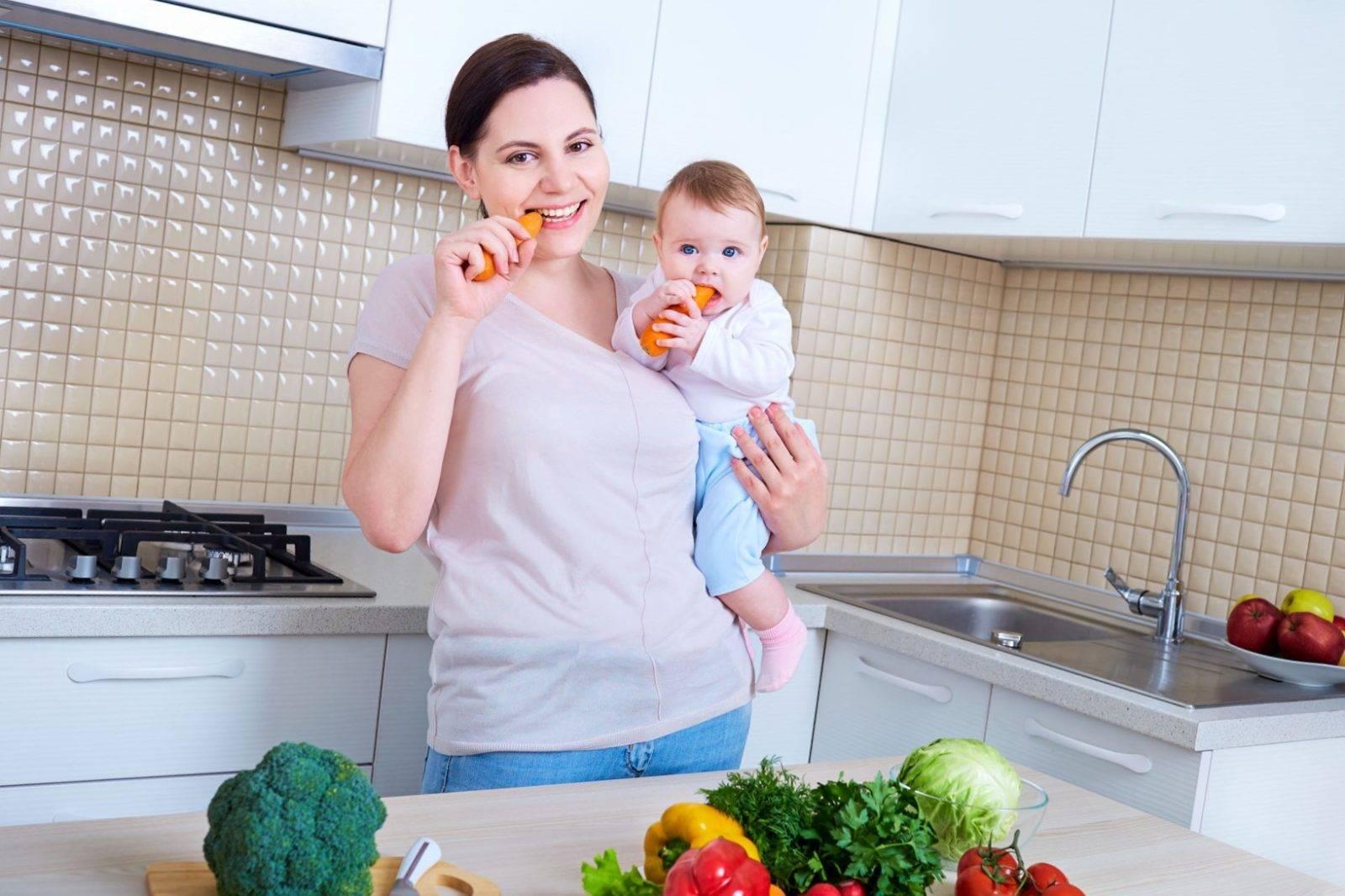 Похудеть при грудном вскармливании: миссия выполнима
