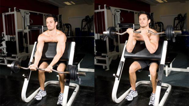 Лучшие упражнения на бицепс в тренажёре | бомба тело