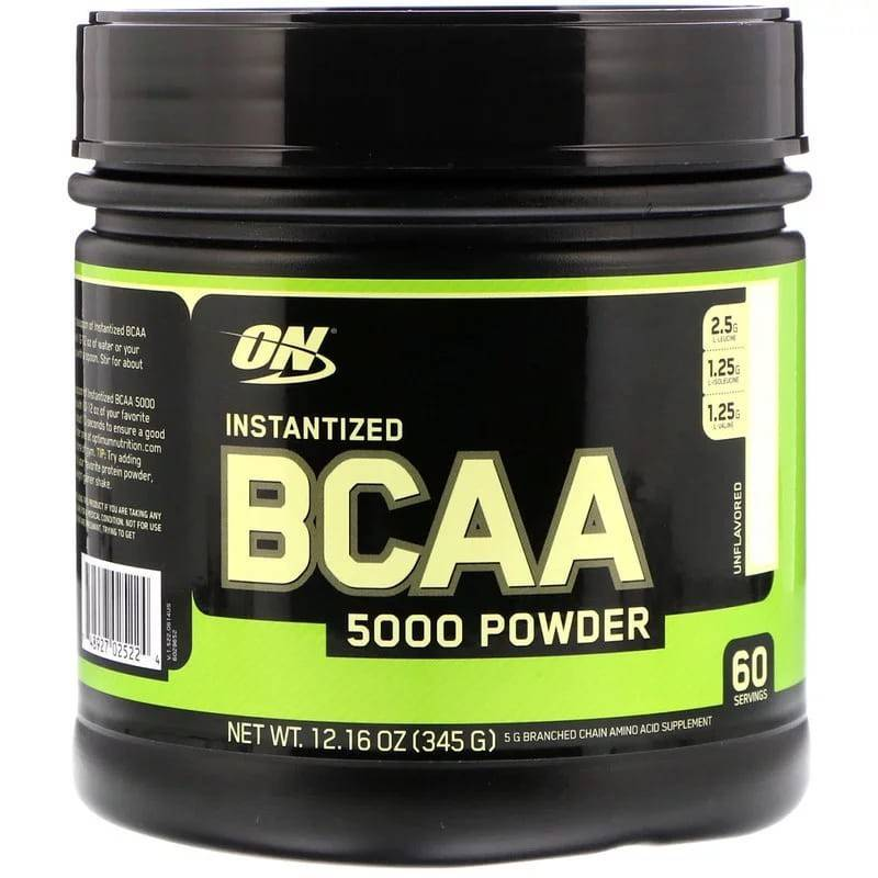 Bcaa 5000 powder (optimum nutrition)