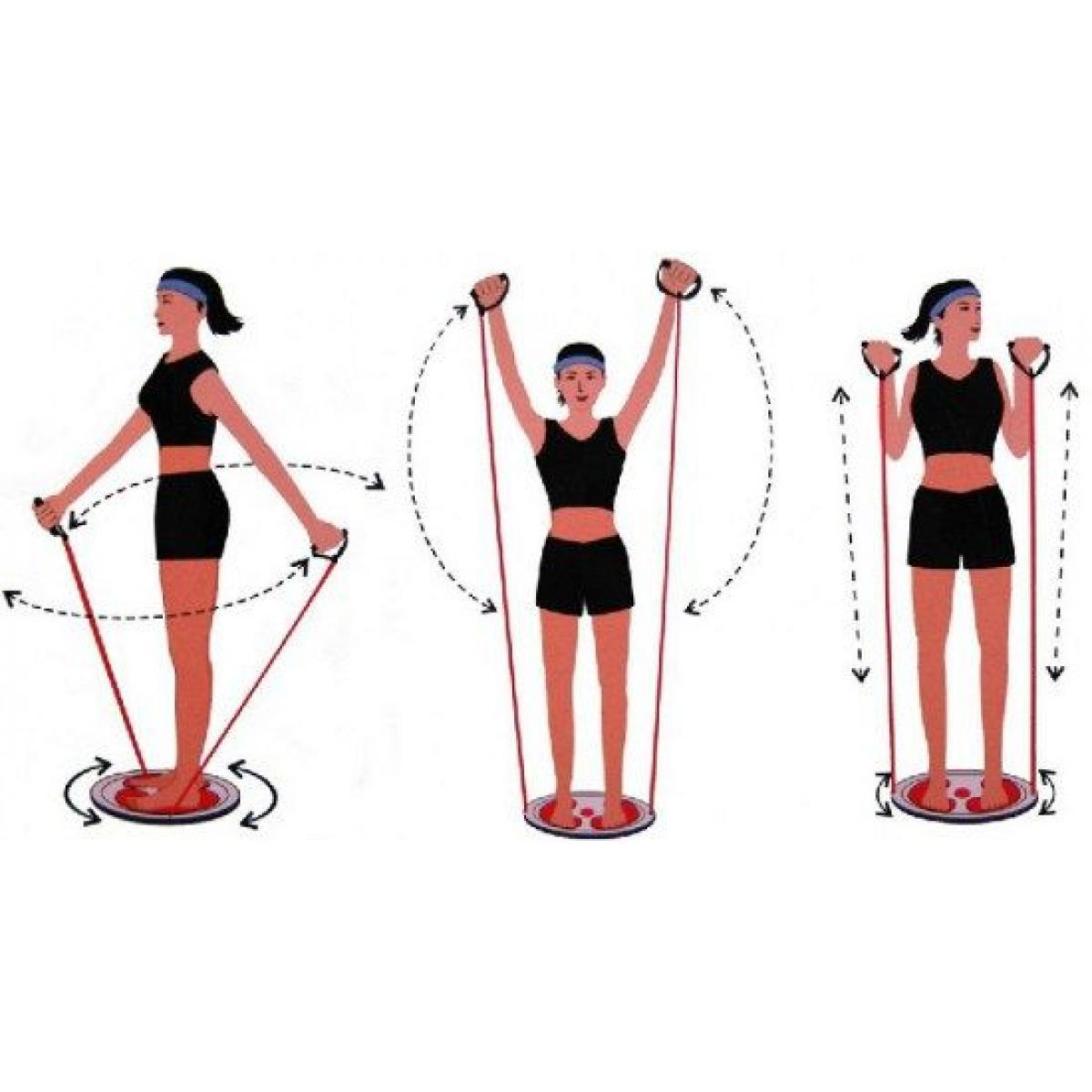 Упражнения на диске здоровья для живота - всё о диетах