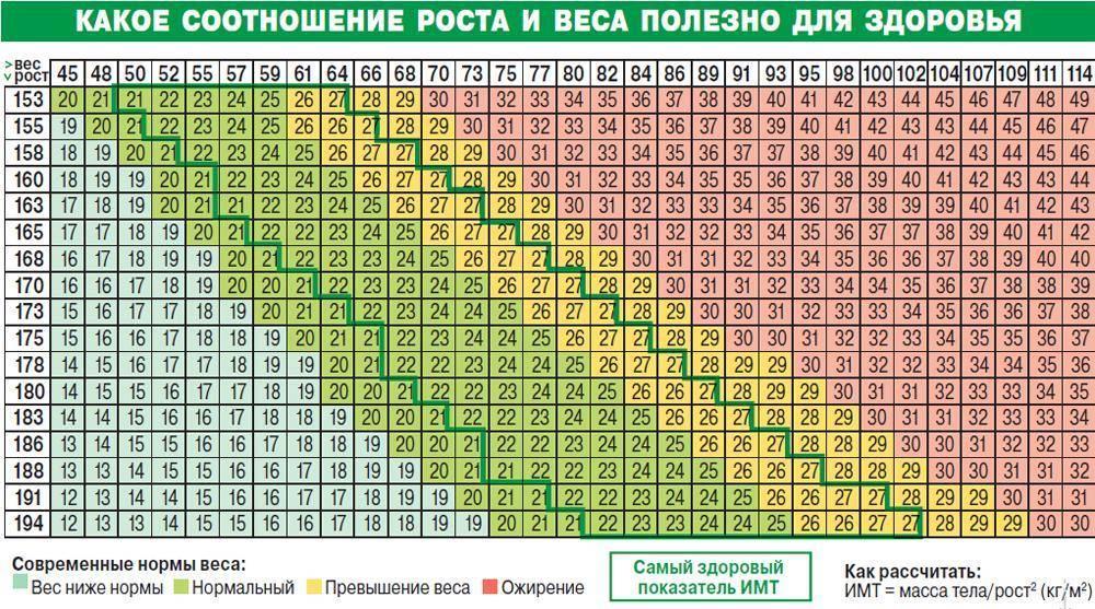 Калькулятор индекса массы тела (имт) – качайся.ру