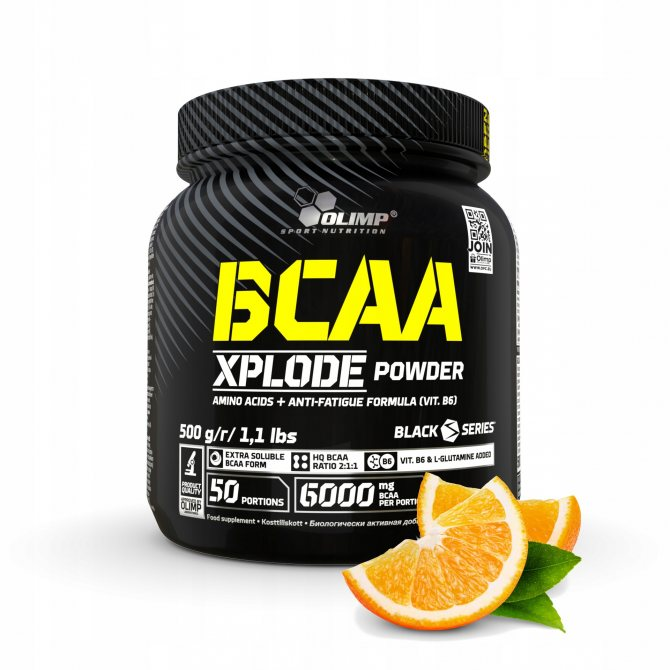 Olimp bcaa xplode powder фруктовый котель 500 грамм