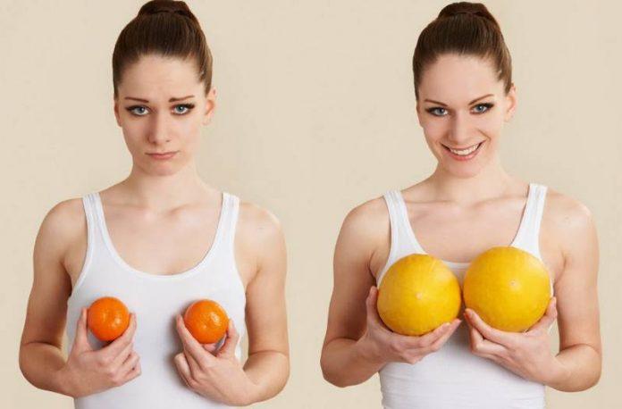 Как увеличить грудь без операции – обзор основных методов