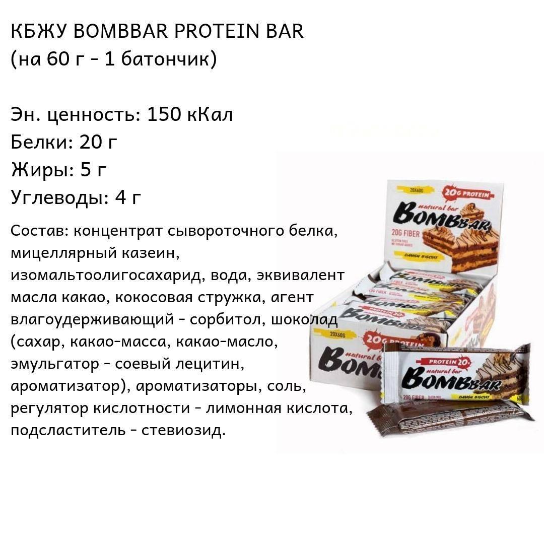 Польза протеиновых батончиков
