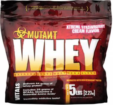 Протеин Mutant Whey – «платиновый» стандарт сывороточных добавок?