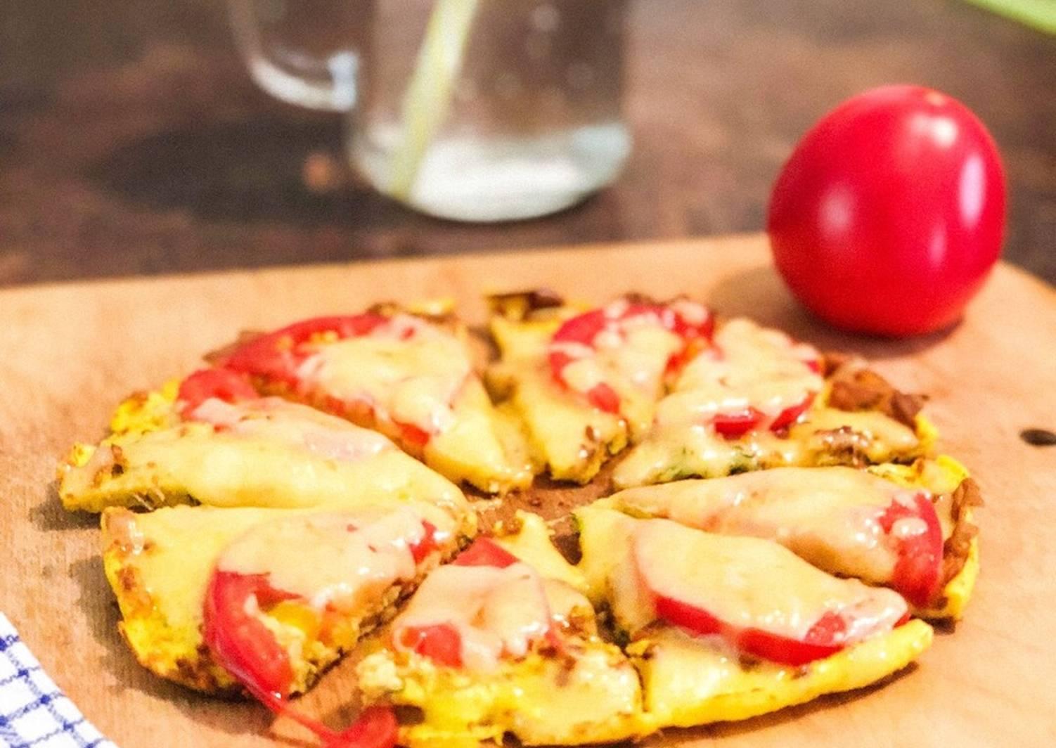 Пицца на курином фарше. пошаговый рецепт с фото