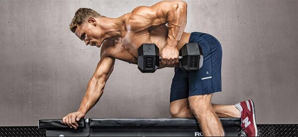 Разгибание рук с гантелями в наклоне: эффективное упражнение на трицепс