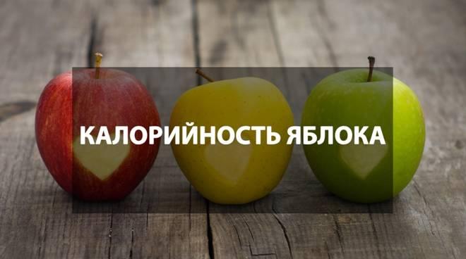 Сколько калорий в яблокеи почему они так хороши для желающих похудеть
