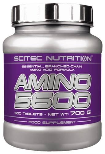 Amino 5600 1000 табл (scitec nutrition) купить в москве по низкой цене – магазин спортивного питания pitprofi