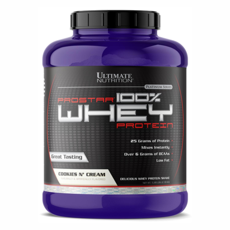 Протеин ultimate nutrition prostar 100% whey protein 2390 г протеины спортдоставка в москве московская область