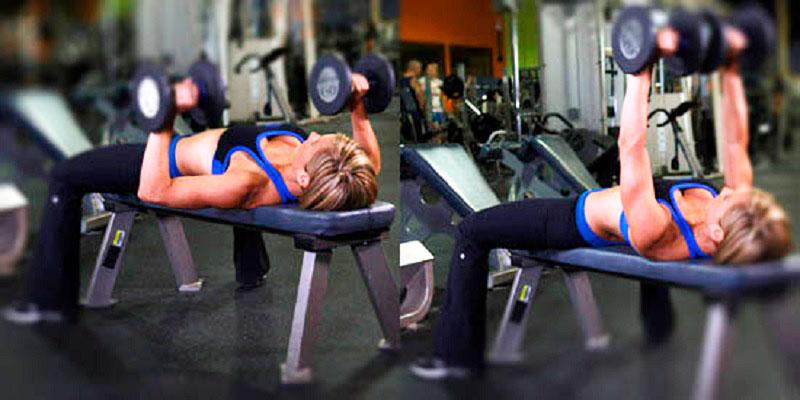 Упражнения на грудные мышцы в тренажёрном зале для женщин и мужчин