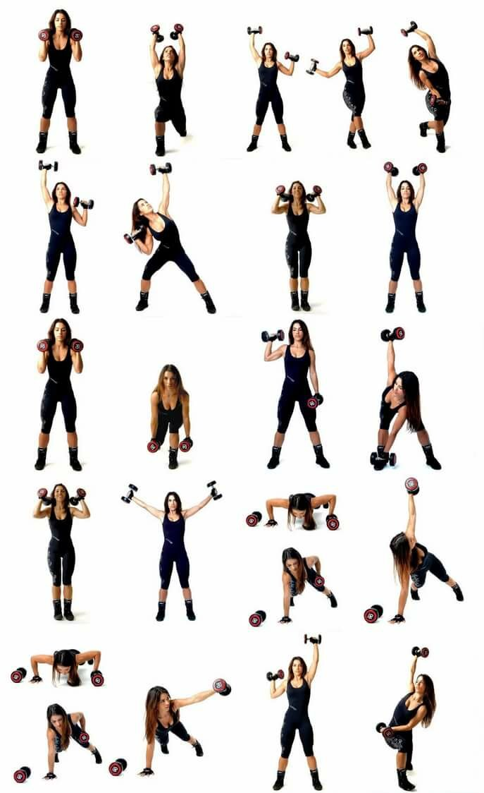 Спинка как картинка: упражнения для похудения рук, спины и плеч