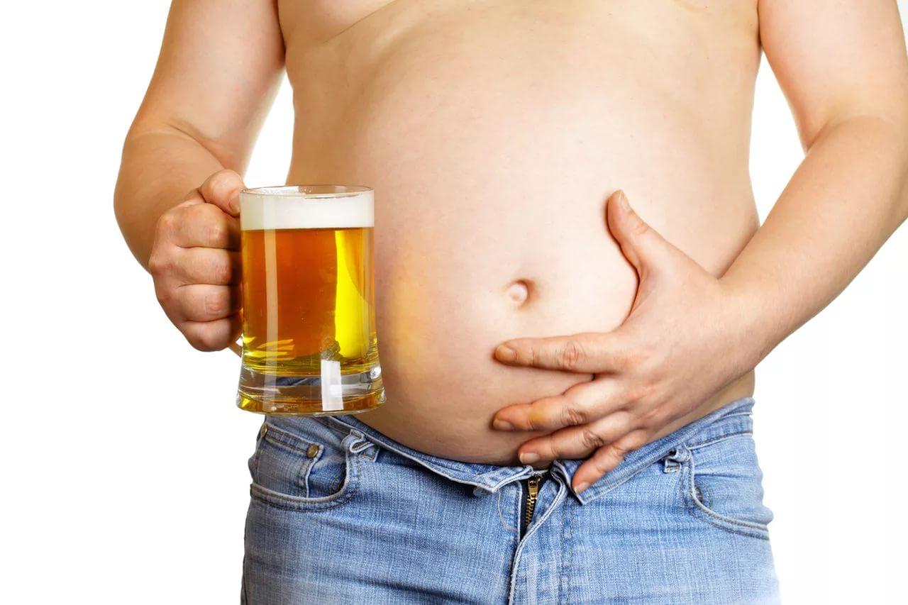 Пивной живот у мужчин: как убрать быстро