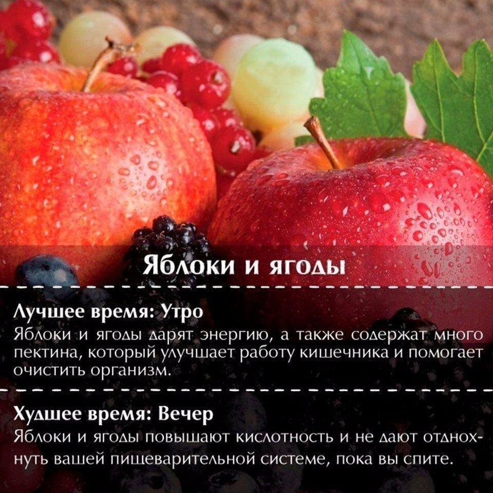 Когда лучше есть фрукты, можно ли после еды, в какое время суток: утром или вечером