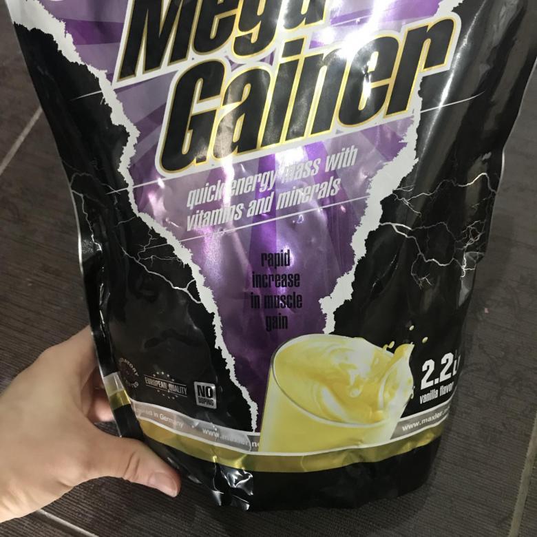 Как принимать гейнер mega gainer от maxler для наращивания массы?