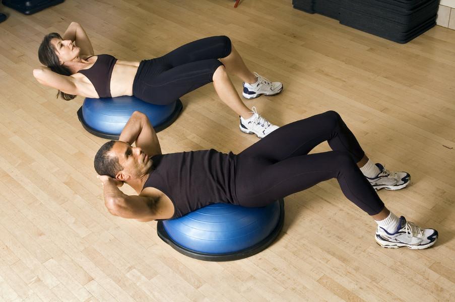 Bosu-тренировка – что это такое в фитнесе, описание упражнений и видео на ydoo.info