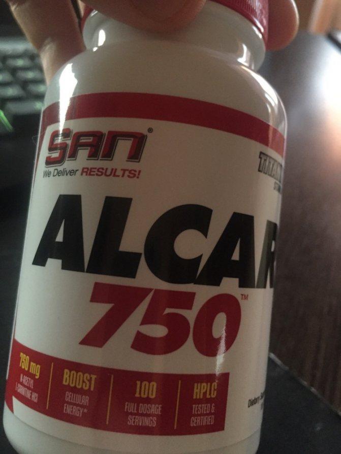 Отзывы о san alcar 750 acetyl l-carnitine (100 таб.)