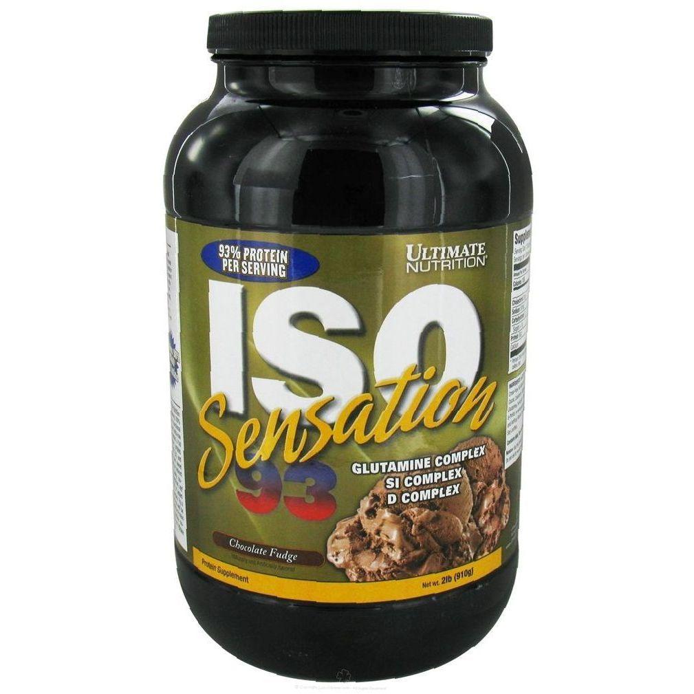 Изолят сывороточного протеина ultimate iso sensation