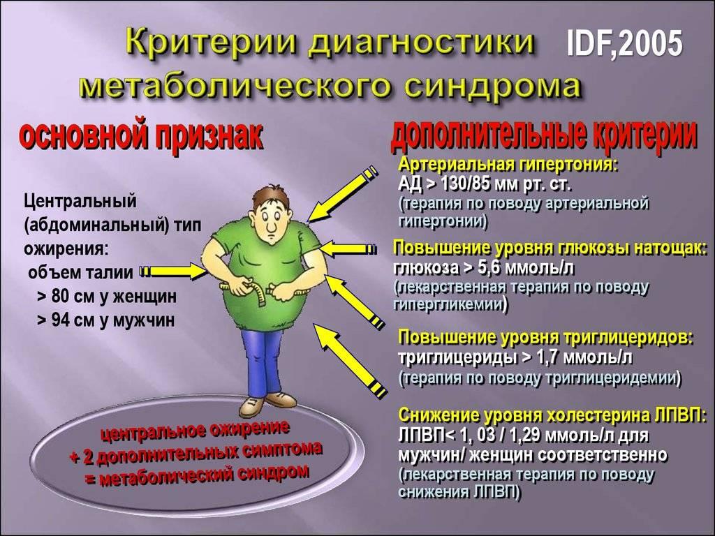 Метаболический синдром что это такое простым языком