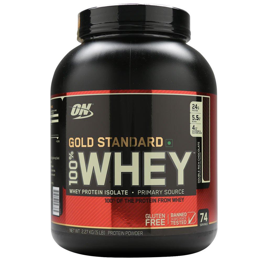 Optimum Nutrition 100% Whey Gold Standard — золотой стандарт качества сывороточного протеина