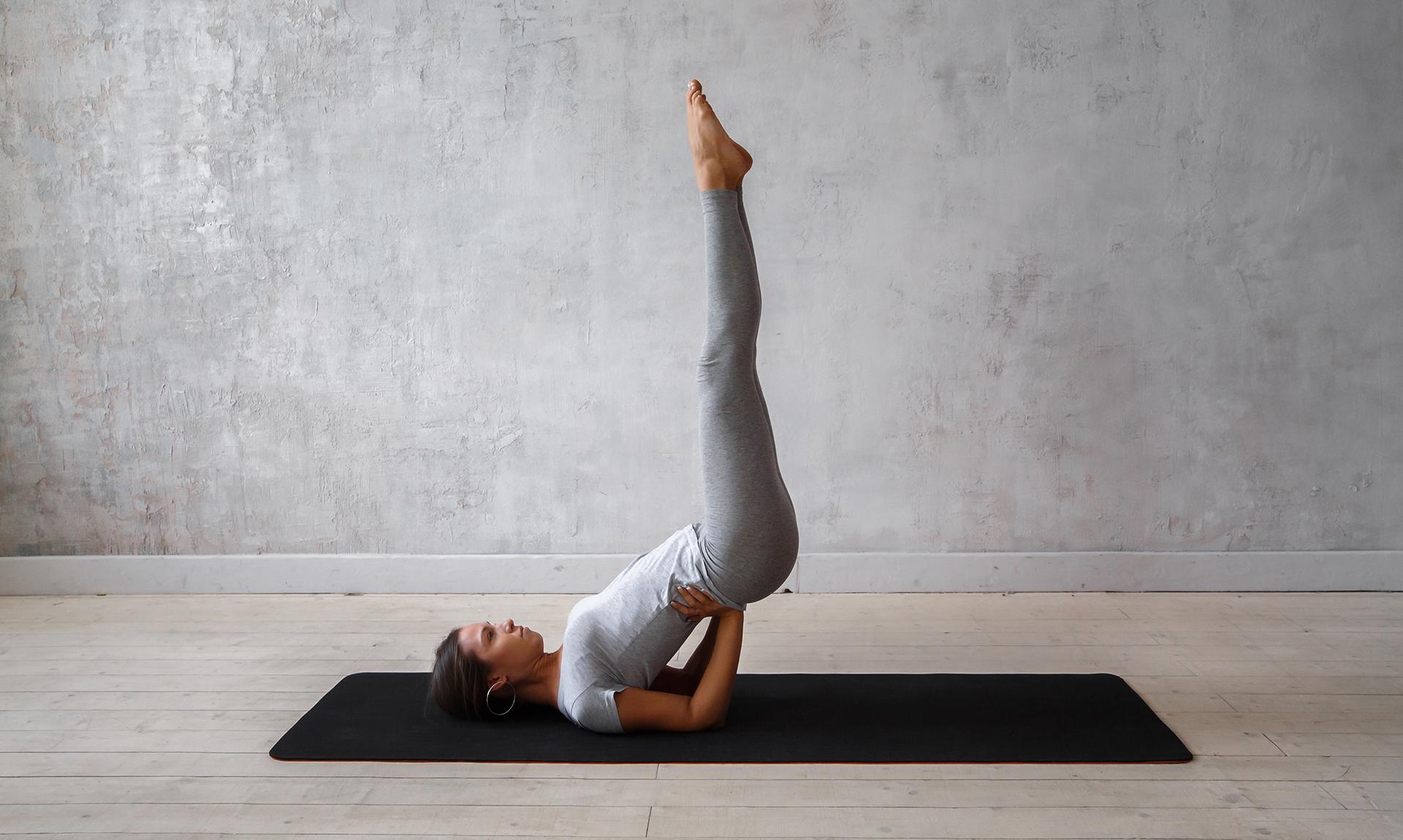 Поза березка: польза и правильное выполнение упражнения