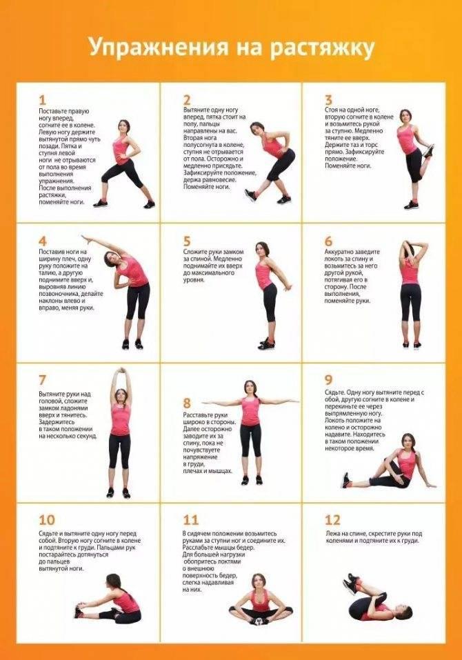 Топ-20 упражнений для универсальной разминки перед тренировкой на 5-10 минут