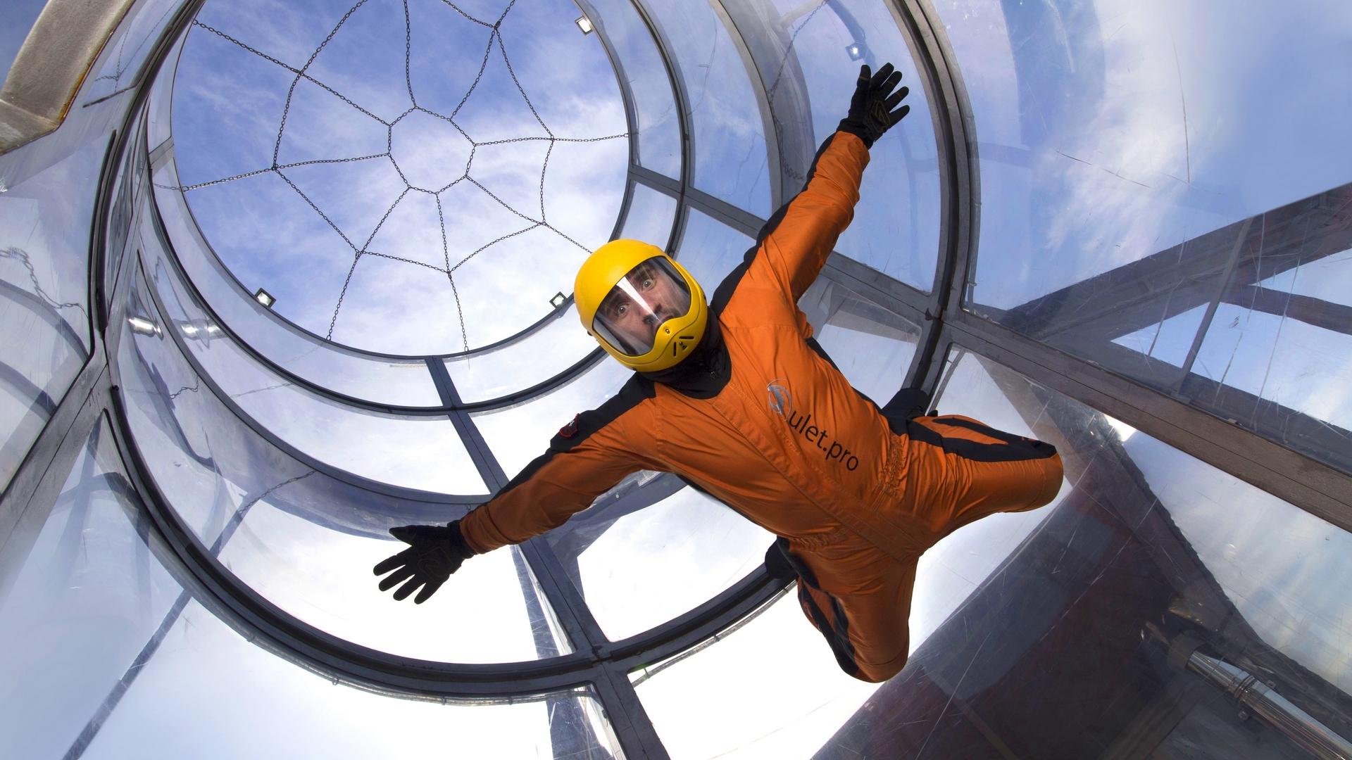 Проект спортивной вертикальной аэродинамической трубы для тренировки парашютистов