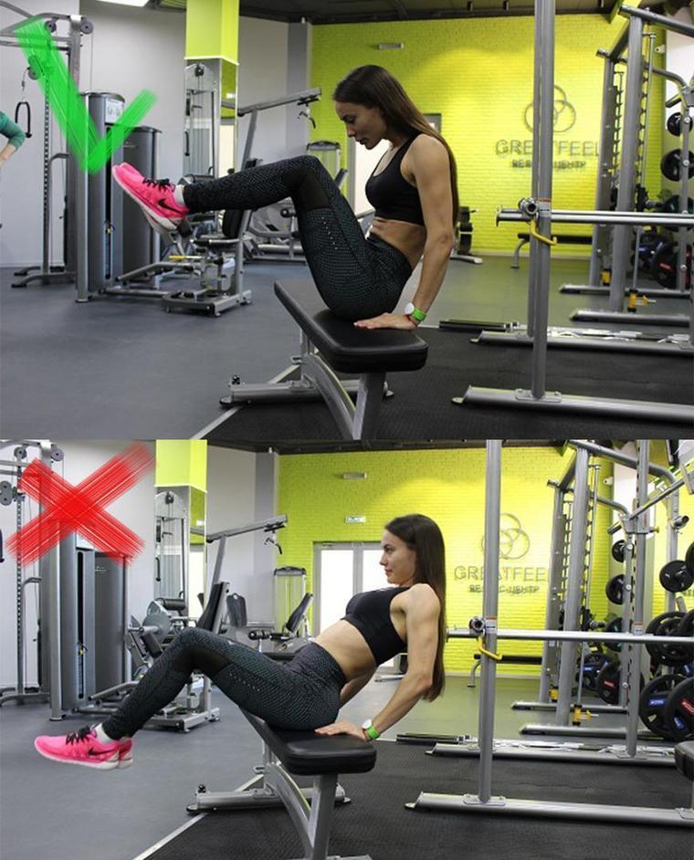 Программа тренировок для девушек