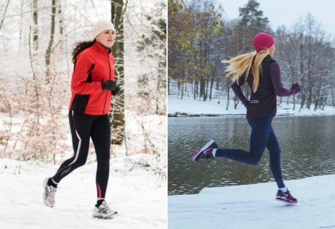В чем бегать осенью и зимой: куртки, кроссовки и прочая одежда