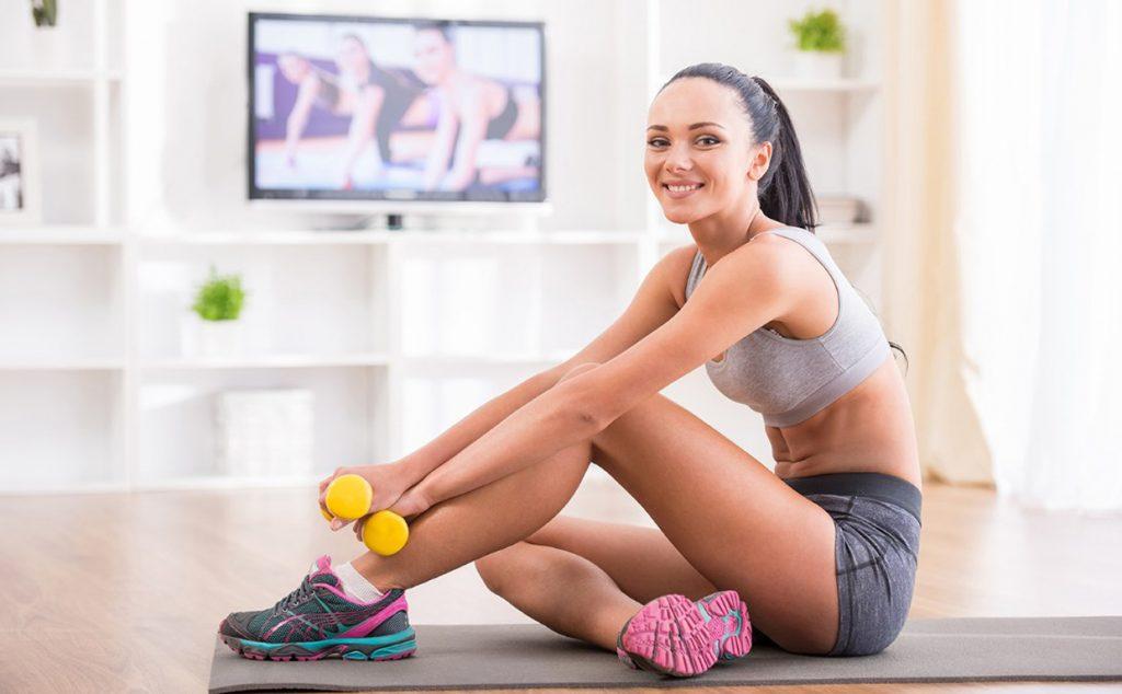 Тренировка для начинающих дома: 35 упражнений (фото)