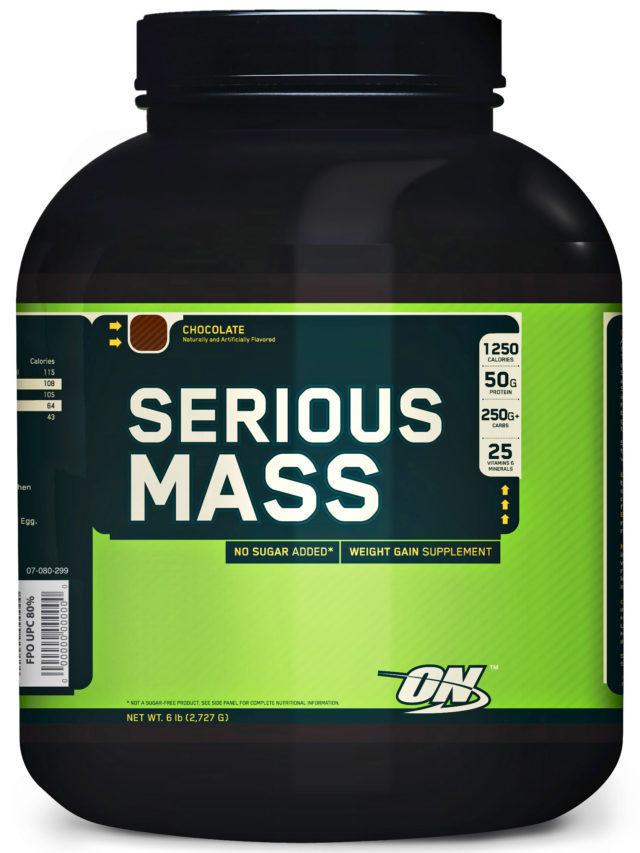 Как пить гейнер serious mass от optimum nutrition для набора массы?