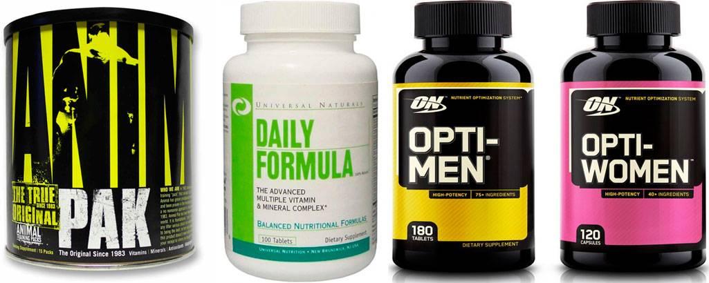 Спортивные витамины для мужчин: топ комплексов при занятиях спортом