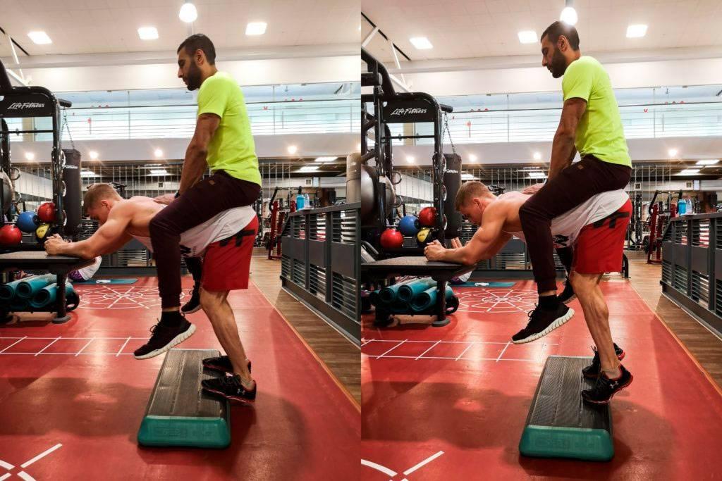 Упражнения нацеленные на икры ног