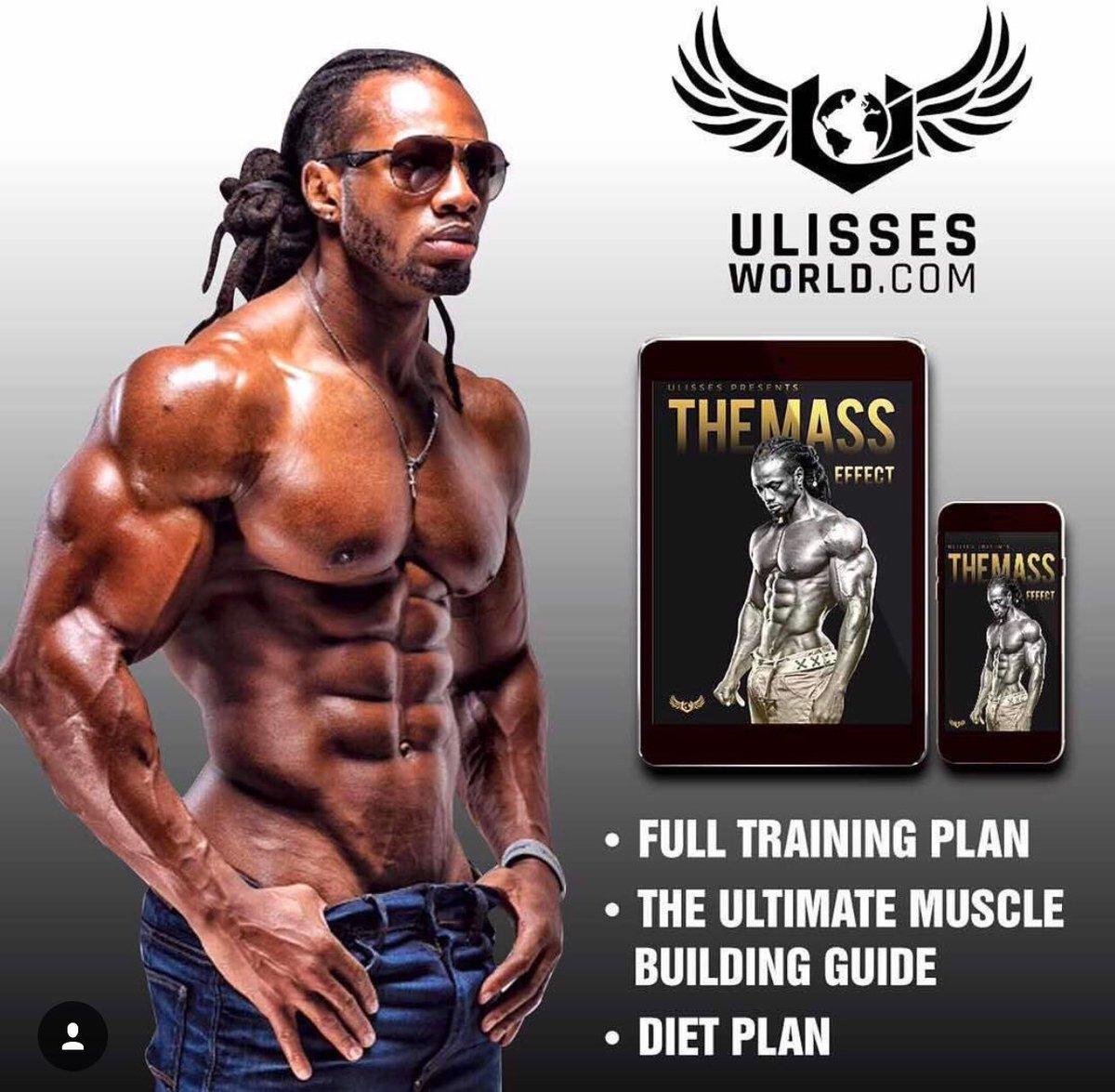 Улиссес уильямс - прогресс без стероидов