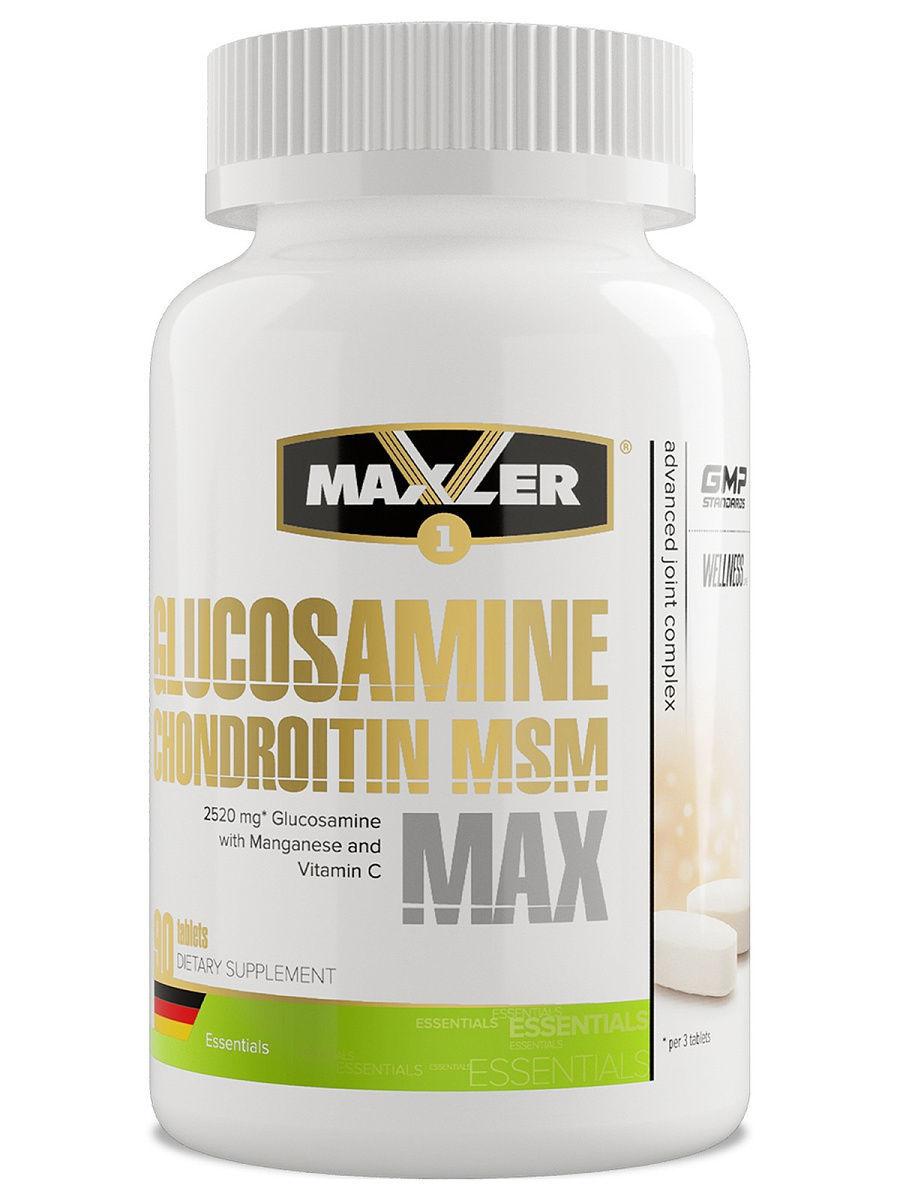 Glucosamine chondroitin msm 90 табл (maxler) купить в москве по низкой цене – магазин спортивного питания pitprofi