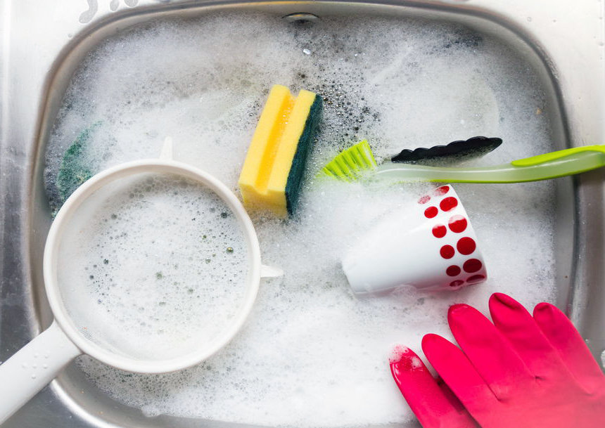 Мытье посуды как процесс